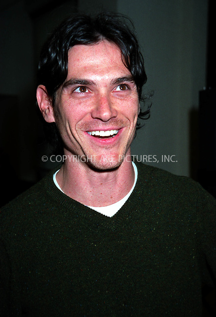 "Billy Crudup at the Royale Theatre for preview of  ""The Elephant Man."" New York. February 11, 2002. Please byline: ARTHUR J./ACE Pictures.   .. *** ***  ..All Celebrity Entertainment, Inc:  ..contact: Alecsey Boldeskul (646) 267-6913 ..Philip Vaughan (646) 769-0430..e-mail: info@nyphotopress.com"