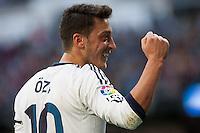 Ozil celebrates his own goal