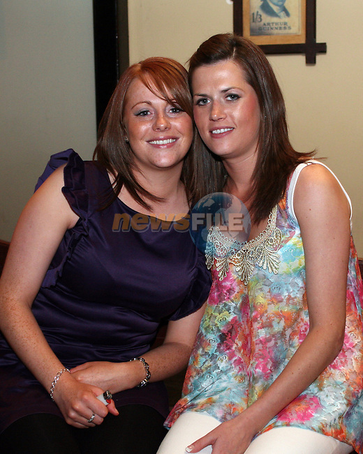 Amy McGuirk with Sarah Callaghan at Amy's Birthday in The Star and Crescent....Photo NEWSFILE/Jenny Matthews.(Photo credit should read Jenny Matthews/NEWSFILE)....This Picture has been sent you under the condtions enclosed by:.Newsfile Ltd..The Studio,.Millmount Abbey,.Drogheda,.Co Meath..Ireland..Tel: +353(0)41-9871240.Fax: +353(0)41-9871260.GSM: +353(0)86-2500958.email: pictures@newsfile.ie.www.newsfile.ie.FTP: 193.120.102.198.