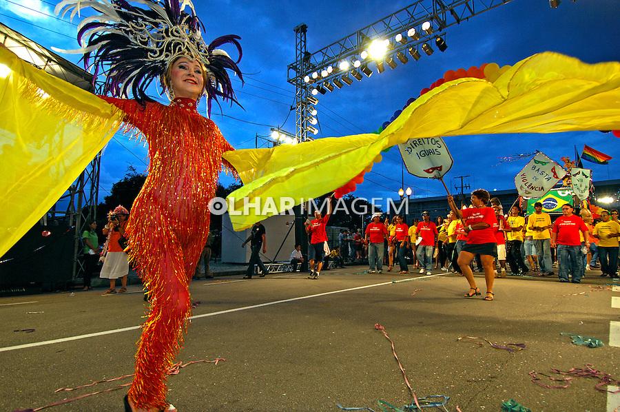 Desfile de carnaval em Curitiba. Paraná. 2007. Foto de Zig Koch.