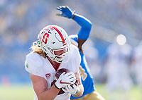 Pasadena, Ca. - November 24, 2018: The Stanford Cardinal vs the UCLA Bruins at the Rose Bowl. Final score Stanford Cardinal 49, UCLA Bruins 42.