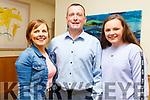 Mary, Padraig and Áine Walsh at the Churchill Variety Show in Ballyroe Hotel on Sunday evening
