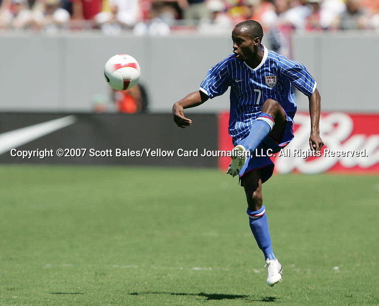 25 March 2007: United States midfielder DaMarcus Beasley. The United States National Team defeated the National Team of Ecuador 3-1 at Raymond James Stadium in Tampa, Florida in an International Friendly soccer match.