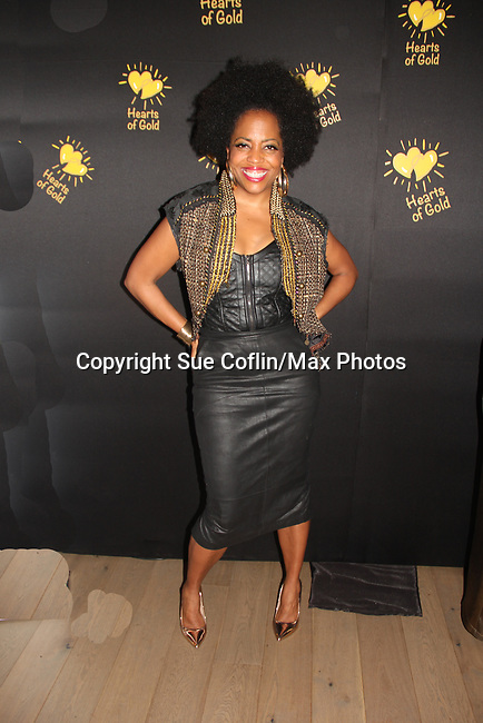 Another World Rhonda Ross - Hearts of Gold annual All That Glitters Gala - 24 years of support to New York City's homeless mothers and their cildren - (VIP Reception - Silent Auction) was held on November 7, 2018 at Noir et Blanc and the 40/40 Club in New York City, New York.  (Photo by Sue Coflin/Max Photo)