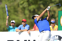 Alexander Levy (FRA) during the 1st round of the DP World Tour Championship, Jumeirah Golf Estates, Dubai, United Arab Emirates. 15/11/2018<br /> Picture: Golffile | Fran Caffrey<br /> <br /> <br /> All photo usage must carry mandatory copyright credit (&copy; Golffile | Fran Caffrey)
