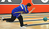 Mike Repoli of Kellenberg practices before a three-game CHSAA boys bowling match against St. Anthony's at AMF Garden City Lanes on Monday, Jan. 9, 2017.