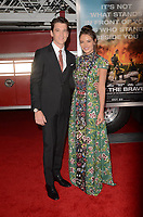 WESTWARD, CA - OCTOBER 8: Miles Teller, Keleigh Sperry at the Only The Brave World Premiere at the Village Theater in Westwood, California on October 8, 2017. Credit: David Edwards/MediaPunch