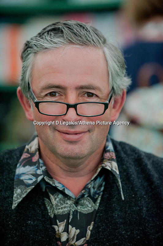 Tuesday 27 May 2014, Hay on Wye, UK<br /> Pictured: Author Matthew Rice<br /> Re: The Hay Festival, Hay on Wye, Powys, Wales UK.