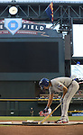 Yu Darvish (Rangers), MAY 27, 2013 - MLB : Yu Darvish of Rangers prepares to bat during the MLB game between the Arizona Diamondbacks and the Texas Rangers in Phoenix, Arizona, United States. (Photo by AFLO)