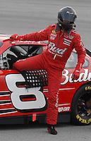 May 4, 2007; Richmond, VA, USA; Nascar Nextel Cup Series driver Dale Earnhardt Jr (8) during qualifying for the Jim Stewart 400 at Richmond International Raceway. Mandatory Credit: Mark J. Rebilas