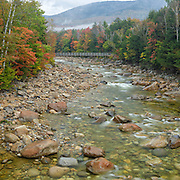 This is the image for September in the 2017 White Mountains New Hampshire calendar. East Branch of the Pemigewasset River in Lincoln. The calendar can be purchased here: http://bit.ly/220sKru