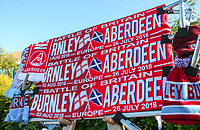 Match memorabilia<br /> <br /> Photographer Alex Dodd/CameraSport<br /> <br /> UEFA Europa League - Europa League Qualifying Round 2 2nd Leg - Burnley v Aberdeen - Thursday 2nd August 2018 - Turf Moor - Burnley<br />  <br /> World Copyright © 2018 CameraSport. All rights reserved. 43 Linden Ave. Countesthorpe. Leicester. England. LE8 5PG - Tel: +44 (0) 116 277 4147 - admin@camerasport.com - www.camerasport.com