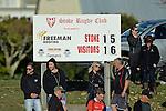 NELSON, NEW ZEALAND - JUNE 11: Freeman Roofing Stoke Senior Div 2 v Galbraith Nelson Senior Div 2, Greenmeadows, June 11 2016, Nelson, New Zealand. (Photo by: Barry Whitnall Shuttersport Limited)