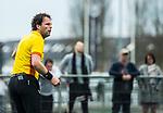 ALMERE - Hockey - Hoofdklasse competitie heren. ALMERE-HGC (0-1) . Bo Verwer, scheidsrechter.     COPYRIGHT KOEN SUYK