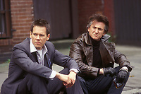 Mystic River (2003)<br /> Sean Penn &amp; Kevin Bacon<br /> *Filmstill - Editorial Use Only*<br /> CAP/KFS<br /> Image supplied by Capital Pictures