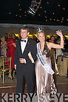 ..Roses and Escorts been introuduced to the large crowd who attende the 50th Rose of Tralee Ball on Friday night at the Rose of TYralee Festival.. ....