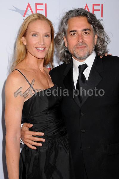 12 June 2008 - Hollywood, California - Kelly Lynch and husband Mitch Glazer. 36th Annual AFI Life Achievement Award at the Kodak Theatre. Photo Credit: Byron Purvis/AdMedia