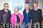 SELECTION: Having a great evening at the 2013 Kerry Rose selection on Friday evening at Ballyroe Heights Hotel, Tralee, l-r: Jacqueline O'mahony, Angela Palmer, Noreen Kavanagh and Breda Burke (Tralee).