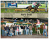 Hard Spun breaking his maiden at Delaware Park on 10/22/06