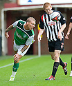 HIBERNIAN'S GARRY O'CONNOR CLEARS FROM PARS JASON THOMSON