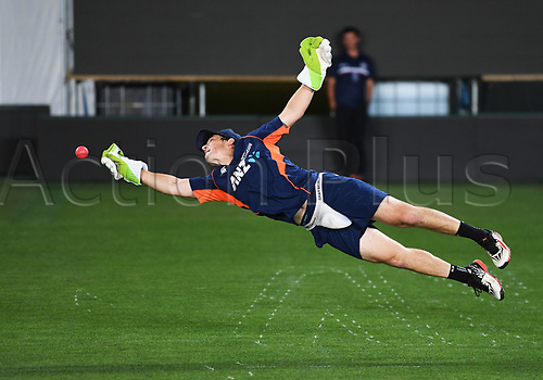 20th March 2018, Eden Park, Auckland, New Zealand;  BJ Watling.<br />