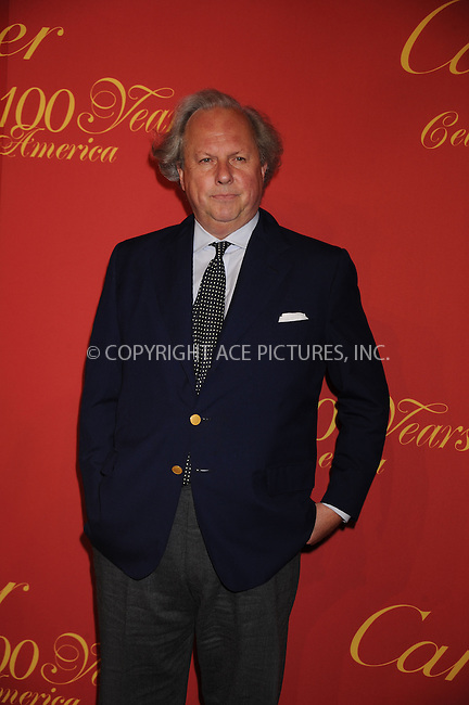 WWW.ACEPIXS.COM . . . . . ....April 30 2009, New York City....Editor of Vanity Fair Graydon Carter arriving at the Cartier 100th Anniversary in America Celebration at Cartier Fifth Avenue Mansion on April 30, 2009 in New York City.....Please byline: KRISTIN CALLAHAN - ACEPIXS.COM.. . . . . . ..Ace Pictures, Inc:  ..tel: (212) 243 8787 or (646) 769 0430..e-mail: info@acepixs.com..web: http://www.acepixs.com