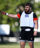 Luke Cowan-Dickie (Exeter Chiefs) during the England Rugby training session at  Jonsson Kings Park Stadium,Durban.South Africa. 05,06,2018 Photo by Steve Haag)
