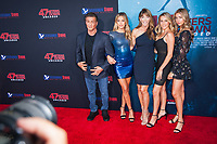 Los Angeles, CA - AUGUST 13th: <br /> Stallone Family attends the 47 Meters Down premiere at the Regency Village Theater on August 13th 2019. Credit: Tony Forte/MediaPunch