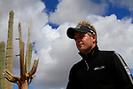Luke Donald (ENG) makes his way to the 1st tee to start of Finals Day 5 of the Accenture Match Play Championship from The Ritz-Carlton Golf Club, Dove Mountain, Sunday 27th February 2011. (Photo Eoin Clarke/golffile.ie)