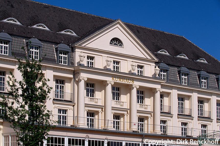 Kurhaus in Travemünde, Schleswig-Holstein, Deutschland