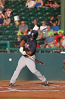 Tampa Yankees infielder Mike Ford (40) at bat during a game against the Daytona Tortugas at Radiology Associates Field at Jackie Robinson Ballpark on June 13, 2015 in Daytona, Florida. Tampa defeated Daytona 8-6. (Robert Gurganus/Four Seam Images)