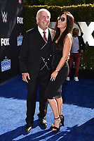 """LOS ANGELES - OCTOBER 4: Ric Flair attends the kick-off event for the """"WWE Friday Night Smackdown on FOX"""" at Staples Center on October 4, 2019 in Los Angeles, California. (Photo by Frank Micelotta/Fox Sports/PictureGroup)"""