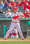 2 March 2013: St. Louis Cardinals infielder Kolten Wong in action during a Spring Training game against the Washington Nationals at Roger Dean Stadium in Jupiter, Florida. The Nationals defeated the Cardinals 6-2 in their first meeting since the NLDS series in October of 2012. Mandatory Credit: Ed Wolfstein Photo *** RAW (NEF) Image File Available ***