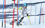 LEAD, SD - JANUARY 31, 2016 -- Paige Williamson works through the slalom in the U14 category during the 2016 USSA Northern Division Ski Races at Terry Peak Ski Area near Lead, S.D. Sunday. (Photo by Richard Carlson/dakotapress.org)
