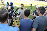 San Jose, CA - Saturday July 29, 2017: Matheus Silva prior to a Major League Soccer (MLS) match between the San Jose Earthquakes and Colorado Rapids at Avaya Stadium.