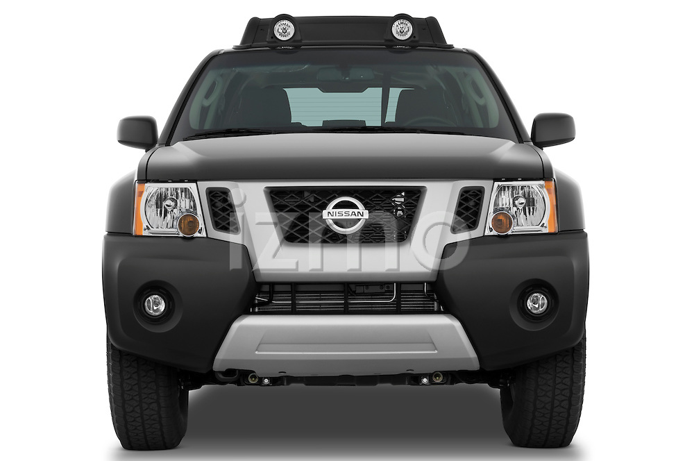 Straight front view of a 2009 Nissan Xterra Off Road