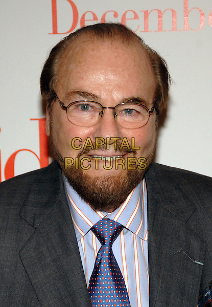 "JAMES LIPTON.""The Holiday"" world premiere at the Ziegfeld Theater, New York, NY, USA..November 29th, 2006.headshot portrait glasses beard facial hair.CAP/ADM/PH.©Paul Hawthorne/AdMedia/Capital Pictures *** Local Caption ***"