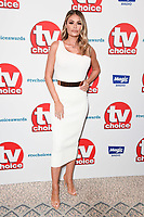 LONDON, UK. September 10, 2018: Chloe Simms at the TV Choice Awards 2018 at the Dorchester Hotel, London.<br /> Picture: Steve Vas/Featureflash