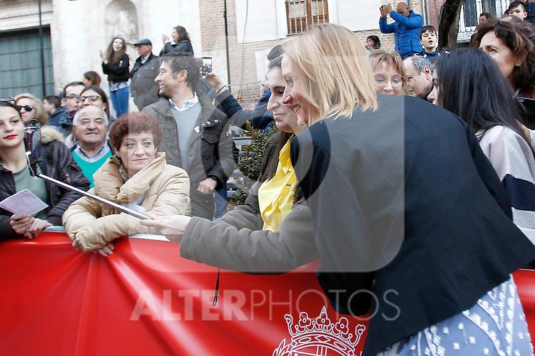 Spanish swimmer Mireia Belmonte during 37 Sport Gala - National Sports Awards 2017. March 6,2017. (ALTERPHOTOS/Acero)