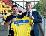St Johnstone Players Sponsors Night, McDiarmid Park...09.05.12.James Keatings.Picture by Graeme Hart..Copyright Perthshire Picture Agency.Tel: 01738 623350  Mobile: 07990 594431