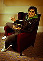 07.11.11. Harrogate, UK. Patrick Monahan in the Sitting Room Comedy green room. Photo credit: Jane Hobson