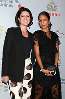 LOS ANGELES - OCT 25:  Judith Lou Levy, Mati Diop at the 2019 British Academy Britannia Awards at the Beverly Hilton Hotel on October 25, 2019 in Beverly Hills, CA
