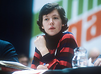 Miriam Kearney, senator, Fine Gael, Rep of Ireland, October, 1982, Ard Fheis, Dublin, 198210000491MK<br /><br />Copyright Image from Victor Patterson, 54 Dorchester Park, <br />Belfast, UK, BT9 6RJ<br /><br />t1: +44 28 9066 1296 (from Rep of Ireland 048 9066 1296)<br />t2: +44 28 9002 2446 (from Rep of Ireland 048 9002 2446)<br />m: +44 7802 353836<br /><br />victorpatterson@me.com<br />victorpattersonbelfast@gmail.com<br /><br />Please see my Terms and Conditions of Use at victorpatterson.com. It is IMPORTANT that you familiarise yourself with them.<br /><br />Images used on the Internet incur an additional cost and must be visibly watermarked i.e. &copy;Victor Patterson within the body of the image and copyright metadata must not be deleted. Images used on the Internet have a size restriction of 4kbs and are chargeable at rates available at victorpatterson.com.<br /><br />This image is available only for the use of the download recipient i.e. television station, newspaper, magazine, book publisher, etc, and must not be passed on to any third party. It is also downloaded on condition that each and every usage is notified within 7 days to victorpatterson@me.com<br /><br />The right of Victor Patterson (or the named photographer) to be identified as the author is asserted in accordance with The Copyright Designs And Patents Act (1988). All moral rights are asserted.