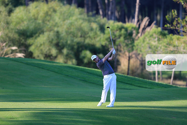 Brandan Grace (RSA) during the final round at the Turkish Airlines Open by the Ministry of Youth and Sport, The Montgomerie Maxx Royal, Antalya, Turkey. Picture Fran Caffrey www.golffile.ie