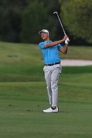 Adrian Meronk (POL) on the 9th fairway during Round 1 of the Challenge Tour Grand Final 2019 at Club de Golf Alcanada, Port d'Alcúdia, Mallorca, Spain on Thursday 7th November 2019.<br /> Picture:  Thos Caffrey / Golffile<br /> <br /> All photo usage must carry mandatory copyright credit (© Golffile | Thos Caffrey)