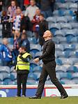 14.09.2019 Rangers v Livingston: Gary Holt at full time