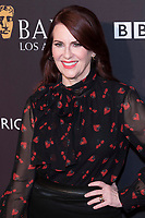 Megan Mullally attends the BAFTA Los Angeles Awards Season Tea Party at Hotel Four Seasons in Beverly Hills, California, USA, on 06 January 2018. Photo: Hubert Boesl - NO WIRE SERVICE - Photo: Hubert Boesl/dpa /MediaPunch ***FOR USA ONLY***