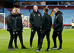 Mike Allen, Matt Prestridge, Alan Knill, Nick Travis and Chris Wilder manager of Sheffield Utd during the Championship match at Villa Park Stadium, Birmingham. Picture date 23rd December 2017. Picture credit should read: Simon Bellis/Sportimage