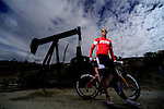 THOUSAND OAKS, CA - NOVEMBER 22: Professional Triathlete Jordan Rapp poses for a portrait during a cover shoot for LAVA Magazine on November 22, 2013 in Thousand Oaks, California. (Photo by Donald Miralle FOR LAVA Magazine) *** Local Caption ***