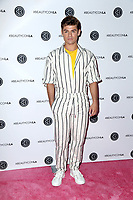 LOS ANGELES - AUG 10:  Garrett Clayton at the Beautycon Festival LA 2019 at the Los Angeles Convention Center on August 10, 2019 in Los Angeles, CA